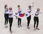 [평창동계올림픽] 쇼트트랙 대표팀 3000m 계주 금메달..한국팀 일정 및 순위