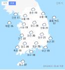 """오늘날씨, 주말 전국이 덥다...미세먼지 농도 서울-경기-부산 등 """"나쁨"""""""