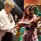 이혜영, 강다니엘과 투샷...'나이 믿기지 않는 외모' 감탄