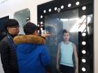 """[포토] """"옷을 입지 않아도 고를 수 있어요""""…알리바바 홍보관서 모습 드러낸 가상 피팅룸"""