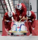 봅슬레이 4인승 은메달 쾌거...한국 봅슬레이 사상 최초