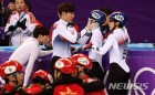 쇼트트랙 남자 500m 첫 황대헌·임효준 동반 메달…최민정-심석희-임효준 '꽈당', 골든 데이가 '노골드' 데이로 피날레