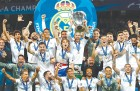 레알 마드리드, 3연속 챔피언