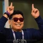 """마라도나, 거침없는 '독설'까지? """"2026년 월드컵 개최지, 충분한 열정·자격 없어"""""""