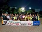 수원남부署 권선·인계파출소 '깨끗한 우리동네 만들기' 합동순찰