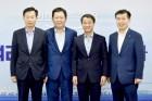 박남춘 시장, 한병도 靑 정무수석과 지역현안 논의