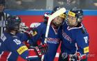 한국 女 아이스하키, 이탈리아 상대 경기서 짜릿한 역전승