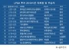 LPGA 투어 2018시즌 우승자 명단…아리야 주타누간 킹스밀 챔피언십 우승
