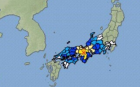 하지영 , 오사카 지진 전율이, 깨알 설명이 ,시간별로 체크