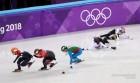 [2018 평창올림픽] 최민정, 쇼트트랙 여자 1000m 결승서 아쉽게 메달 획득 실패